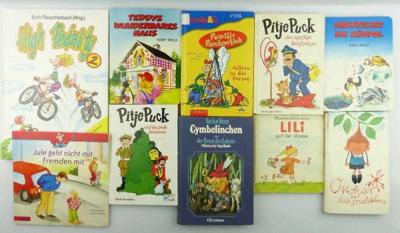 8 Kinderbücher /Jugendbücher: Ottokar, das Früchtchen, Lili auf der Wiese...e989