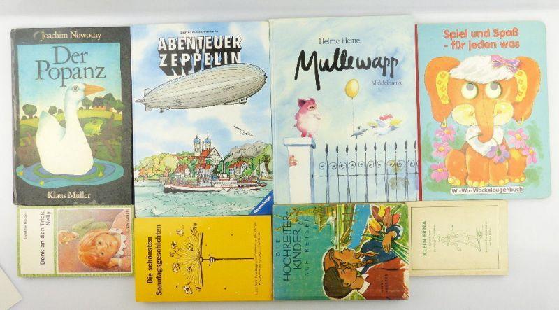 8 Kinderbücher /Jugendbücher: Denk an den Trick Nelly... e987