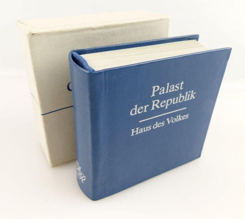 Minibuch: Palast der Republik, Haus des Volkes 1986 1. Auflage e181