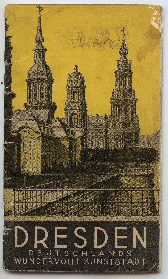 Dresden Deutschlands wundervolle Kunststadt mit Karte