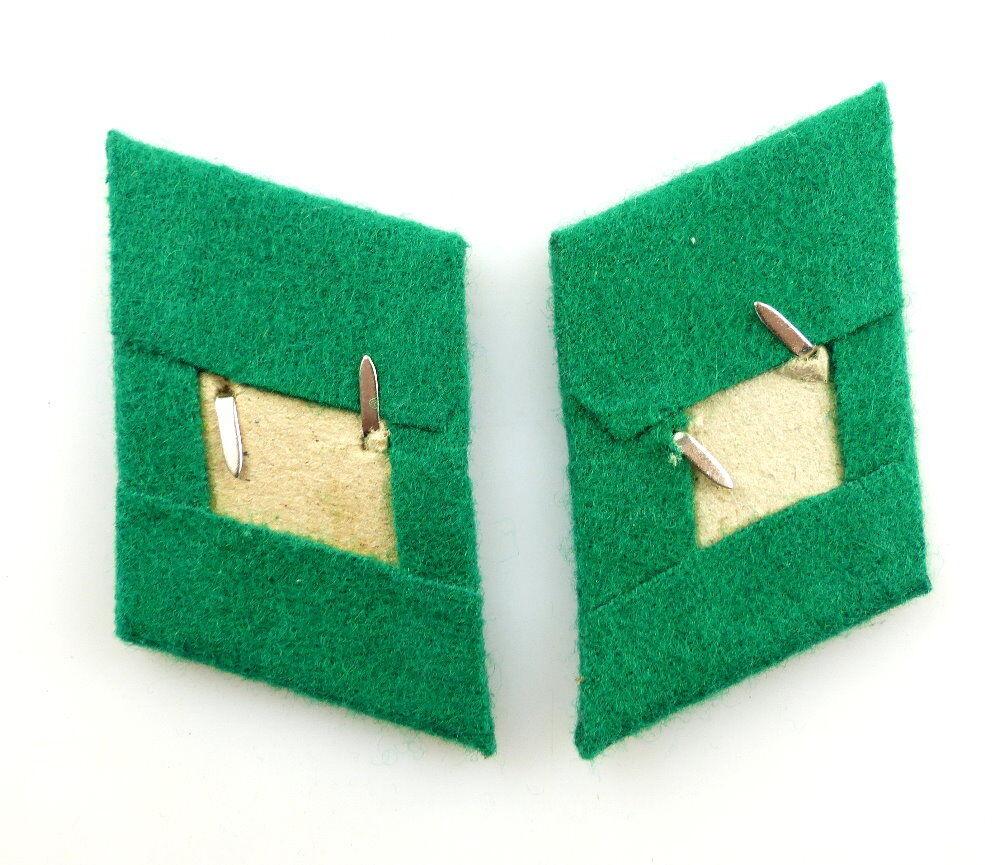 DDR Tuchspiegel für Offiziere der Grenzflieger Sammeln & Seltenes #e4464 1 Paar DDR Kragenspiegel