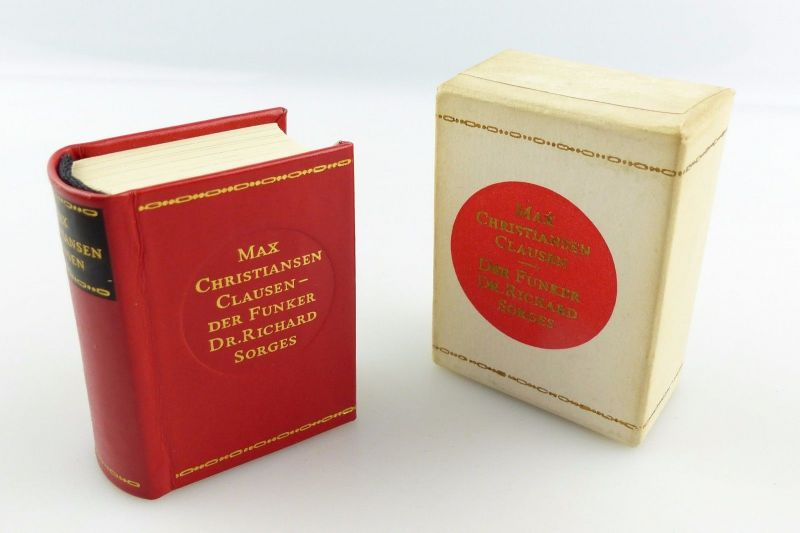 #e5434 Minibuch: Max Chrisiansen Clausen Der Funker Dr. Richard Sorges