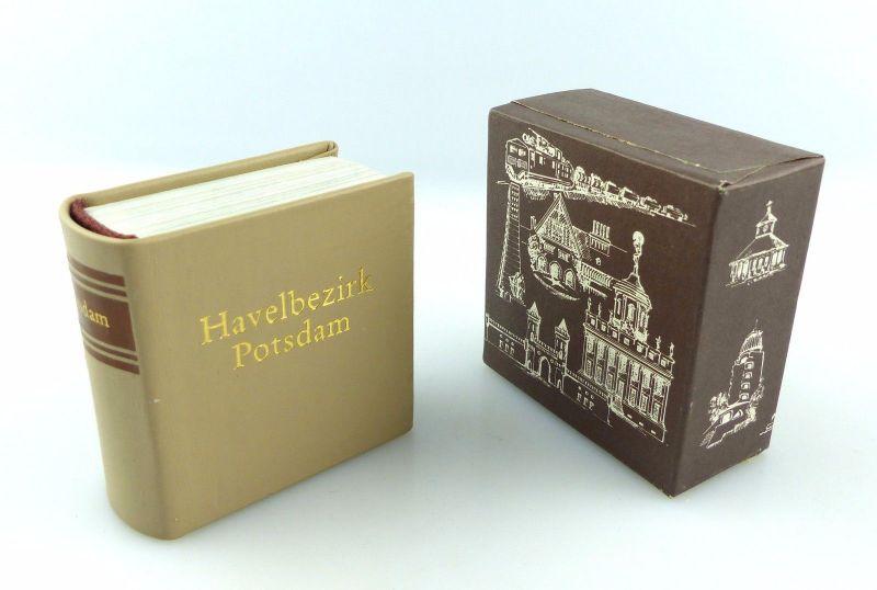 #e5433 Minibuch: Havelbezirk Potsdam Offizin Andersen Nexö Leipzig