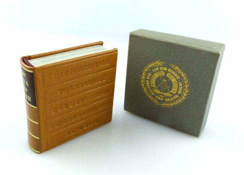 #e5431 Minibuch: Die NVA der DDR, Verlag Zeit im Bild Militärverlag der DDR
