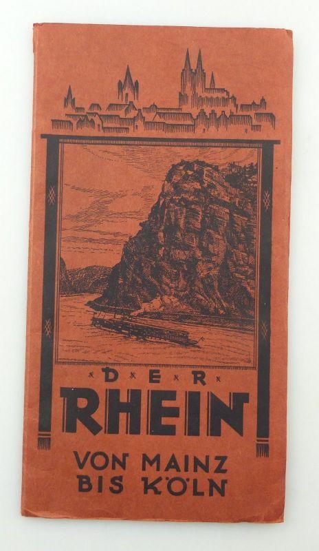 E9620 Der Rhein von Mainz bis Köln Heft zum Aufklappen 0