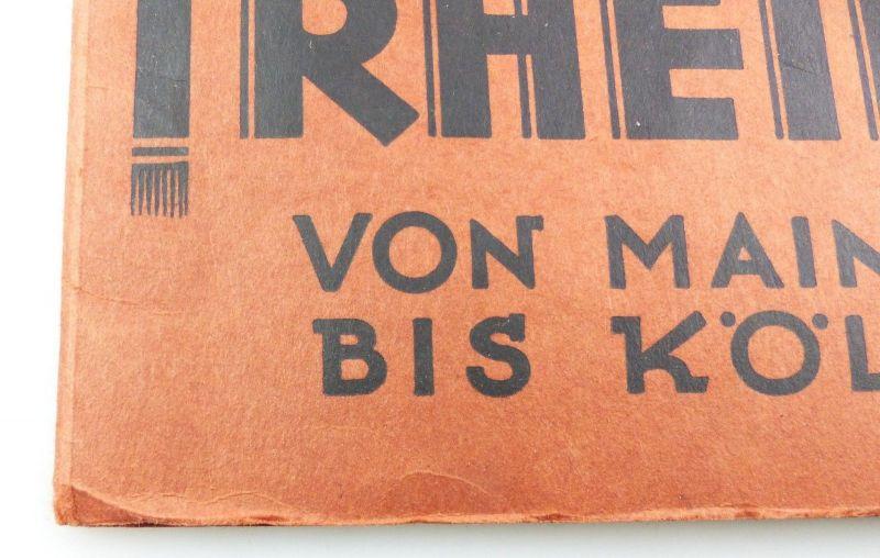 E9620 Der Rhein von Mainz bis Köln Heft zum Aufklappen 1