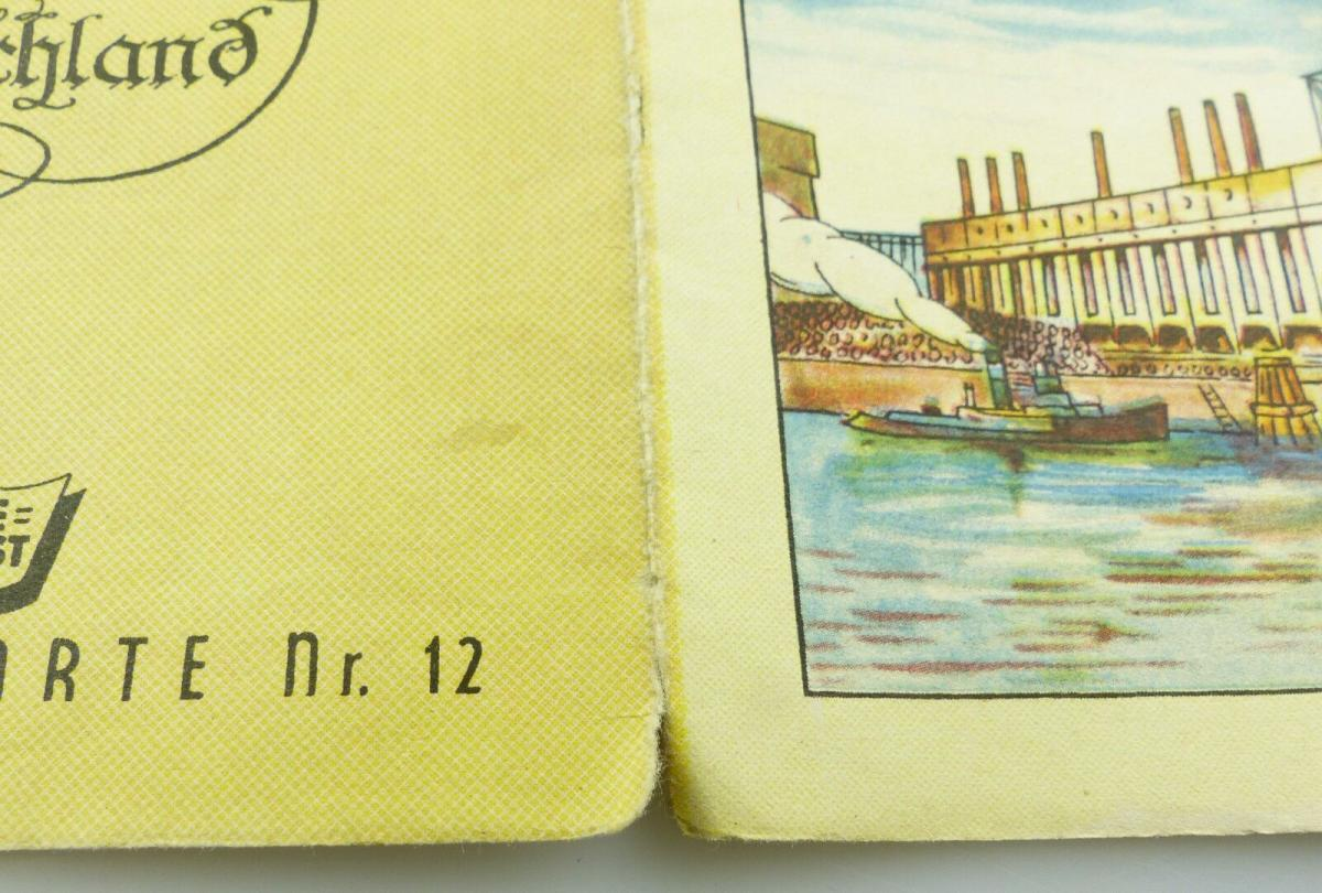 E9615 Shell Straßenkarte Nr 12 Meißen Sachsen Mitteldeutschland Reisedienst 3