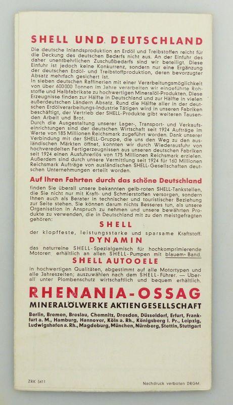 E9602 Alte Shell Stadtkarte Nummer 5 Leipzig Völkerschlachtdenkmal 1