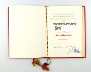 #e6878 DDR Urkunde