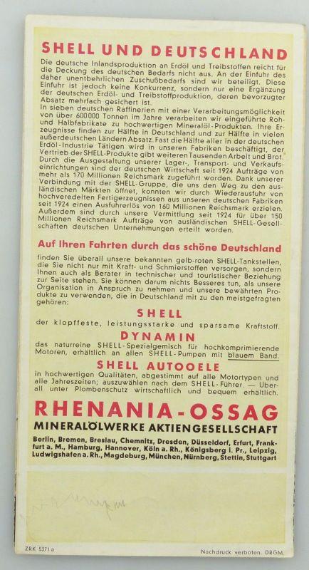 E9593 Alte Shell Stadtkarte Nummer 71 Weimar 1