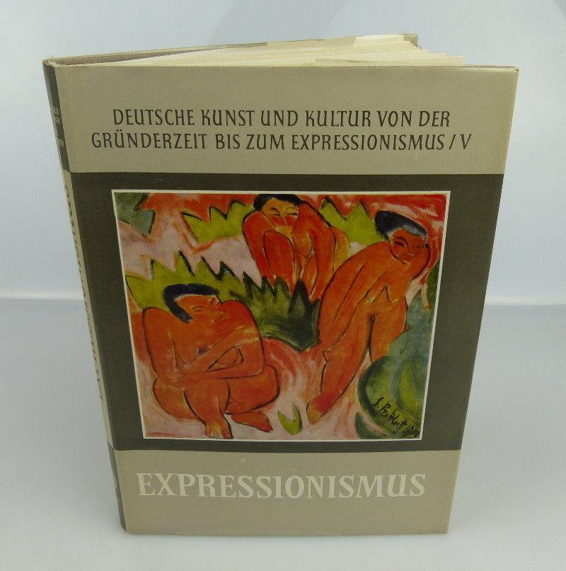 Buch: Expressionismus deutsche Kunst und Kultur Akademie Verlag Berlin bu0822