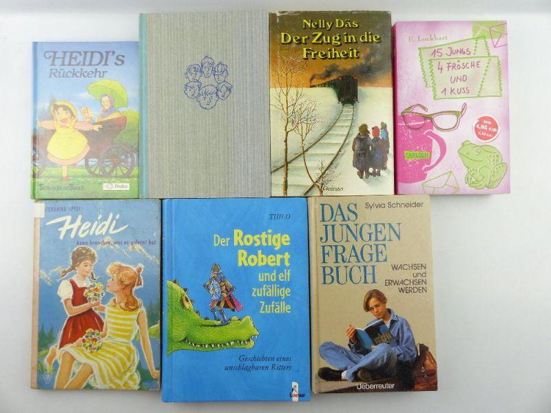 7 alte Kinderbücher: z.B. Heidis Rückkehr e1130