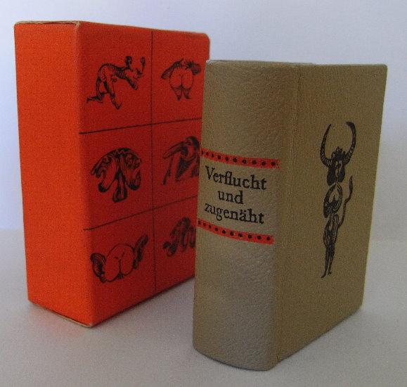 Minibuch: Verflucht und zugenäht Schimpfwörter aus unserer Muttersprache bu0012