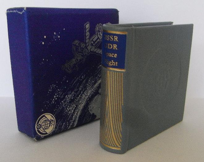 Minibuch: USSR - GDR Space Flight Dresden 1979 Verlag Zeit im Bild bu0007