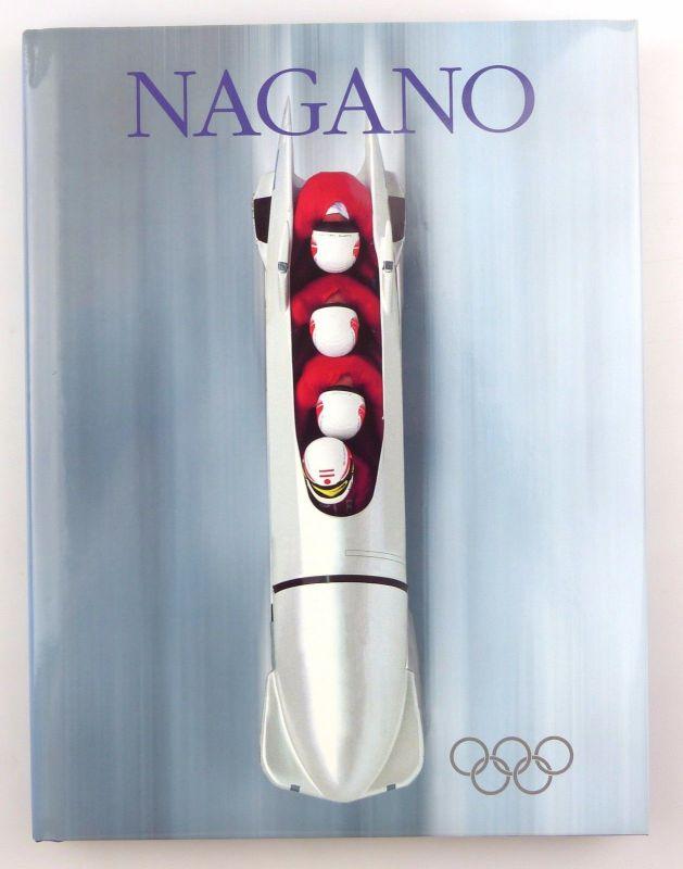 #e7224 Buch: Nagano 1998 Deutsche Sporthilfe Olympische Sportbibliothek
