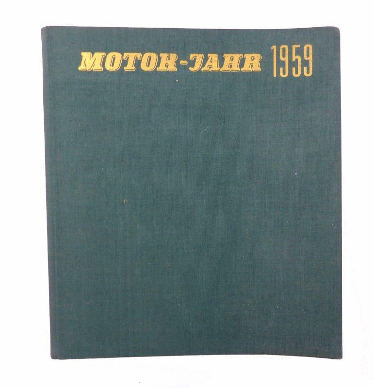 #e7215 Buch: Motor-Jahr 1959 eine internationale Revue 1958 von Graf & Klaus