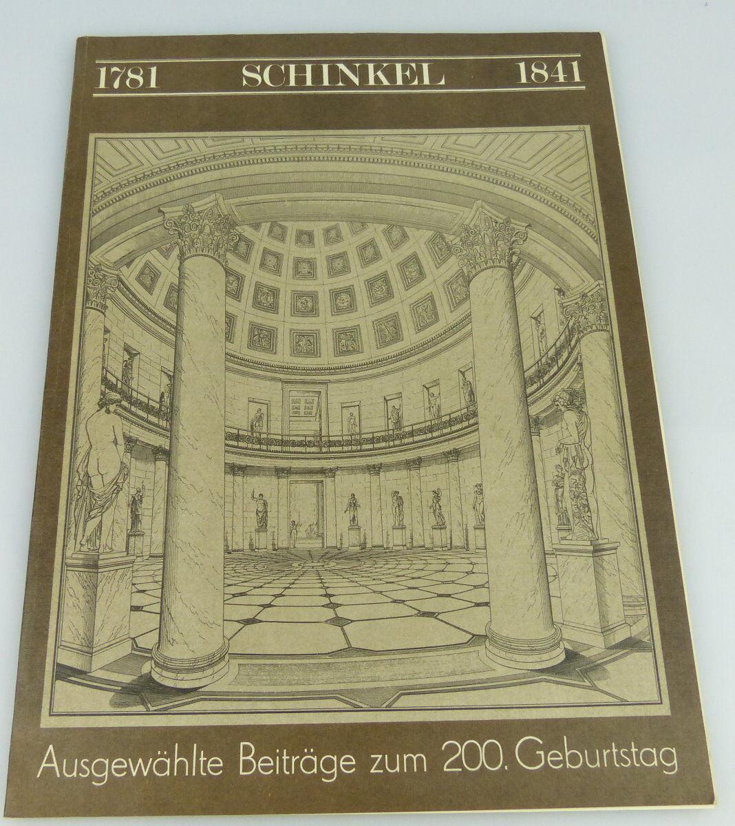 Buch : Schinkel 1781-1841 zum 200- Geburtstag,Verlag für Bauwesen Berlin/rebu009