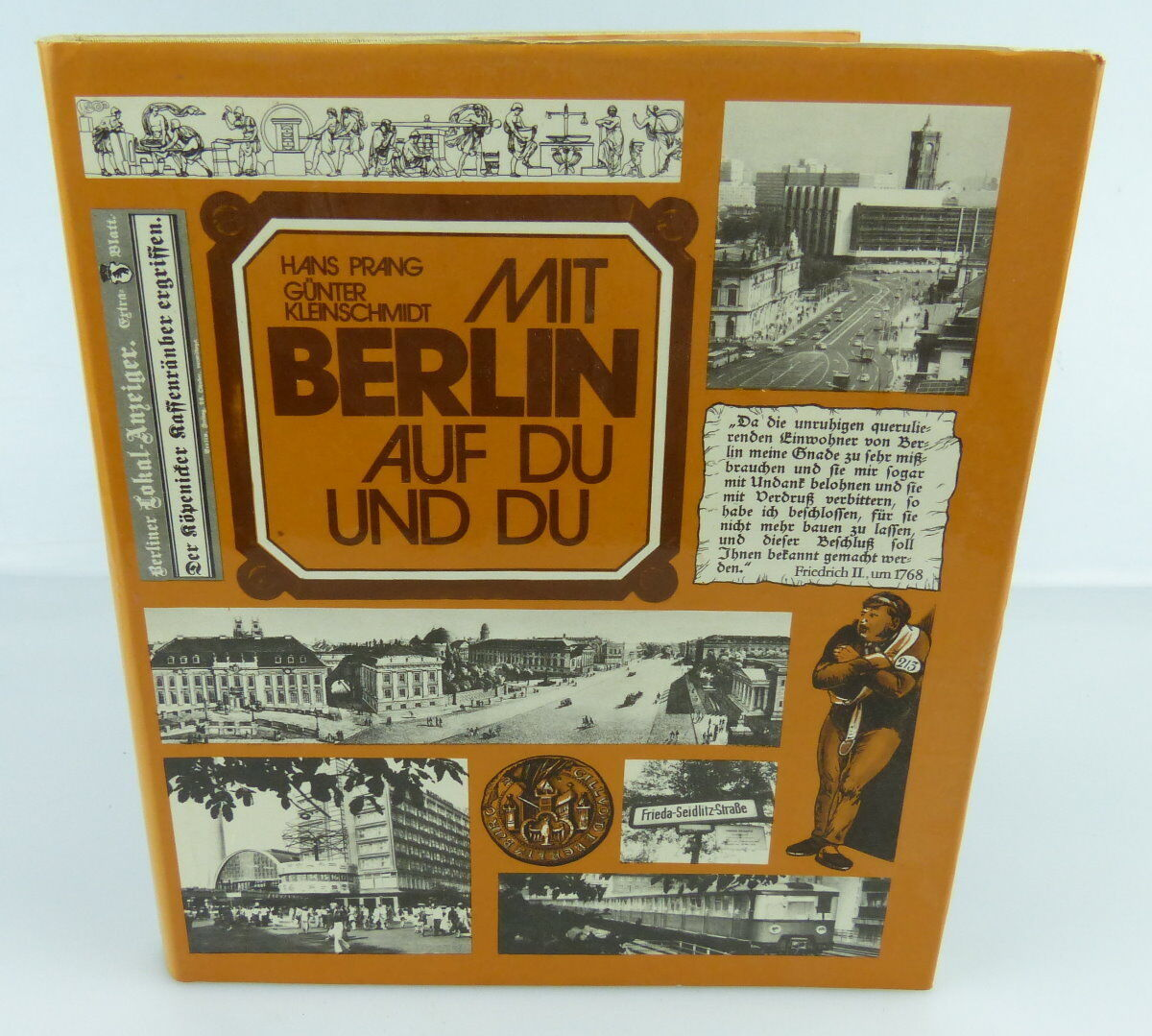Buch: Mit Berlin auf Du und Du, F.A.Brockhausverlag Leipzig 1980/rebu005