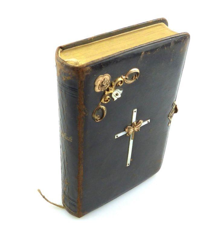 E9844 Altes Gesangbuch evangelisch lutherische Kirche Königreich Sachsen 1883