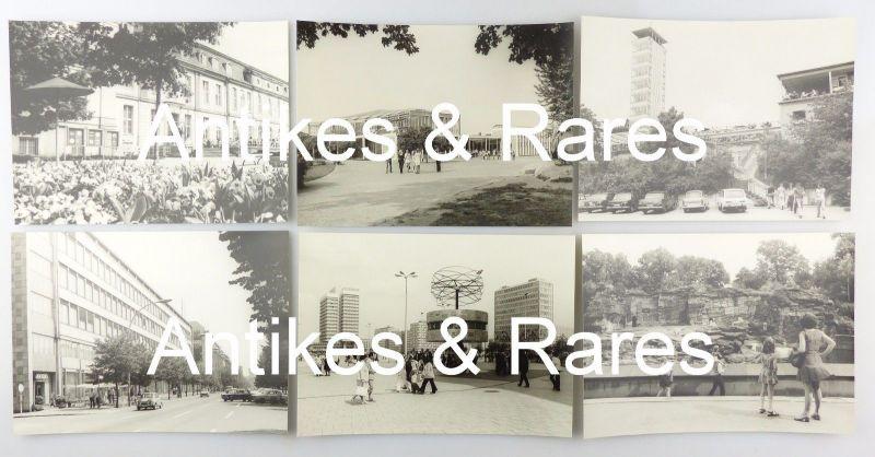 #e7621 12 original alte DDR Fotos von Berlin in schöner Mappe von 1974 2