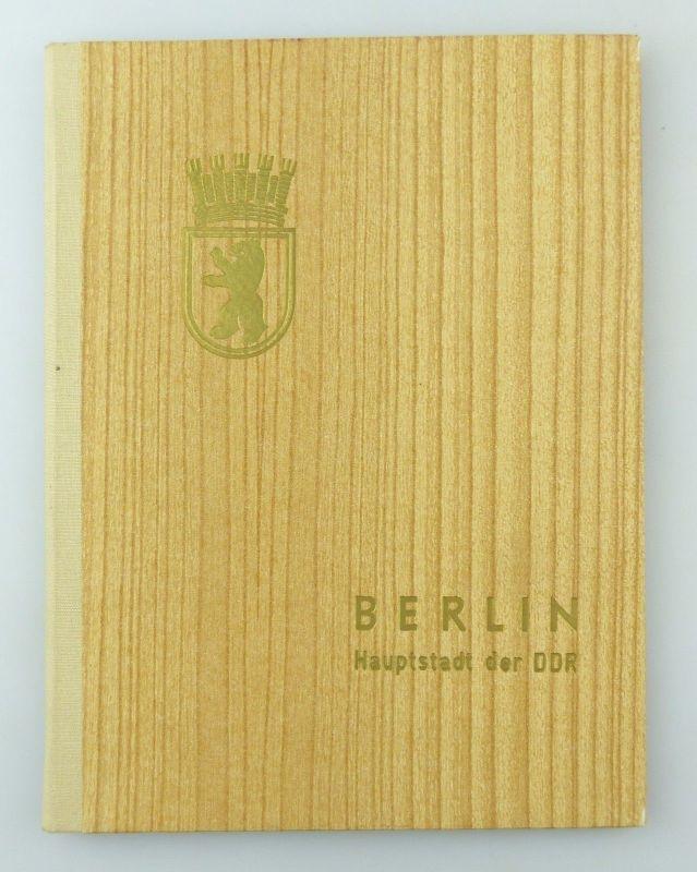 #e7621 12 original alte DDR Fotos von Berlin in schöner Mappe von 1974 7