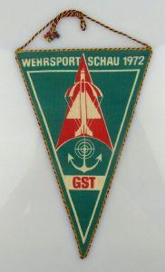 Wimpel: Wehrsportschau 1972 GST DDR Orden1862