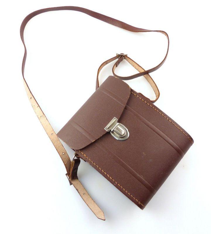 E9972 Fernglastasche Tasche mit Riemen passend für zB Carl Zeiss 6x30 oder 8x30