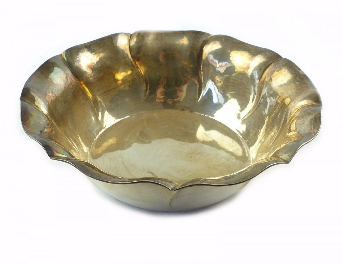 #e6737 Dekorative Schale / Obstschale aus 835 (Ag) Silber