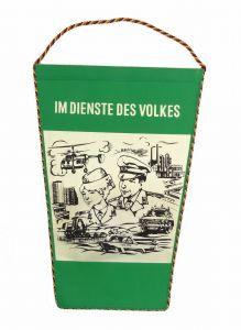 #e6060 DDR Wimpel Deutsche Volkspolizei Im Dienste des Volkes DVP