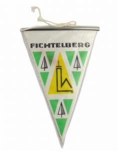 #e6056 DDR Wimpel Erzgebirge Fichtelberghaus Fichtelberg