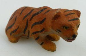 Wohl altes Lineol Tier: Tigerbaby (linol159)