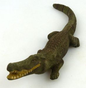 Altes Lineol Tier: Krokodil (linol157)