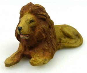 Altes Lineol Tier: Löwe (linol156)