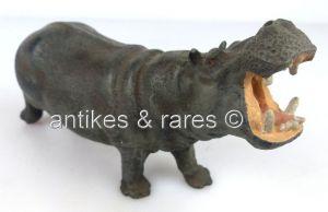 Altes Lineol Tier: Flusspferd (linol131)