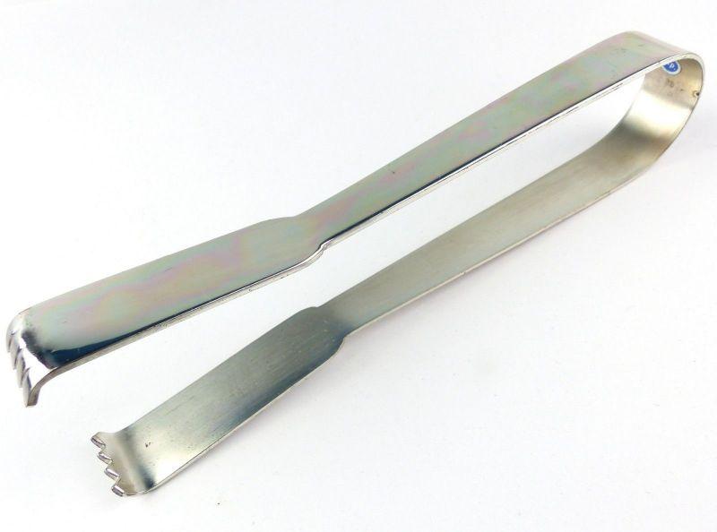E10005 Alte Eiswürfel Zange wohl verchromt Zap
