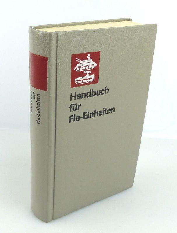 #e1870 Handbuch für Fla-Einheiten 1. Auflage des Militärverlages der DDR, NVA