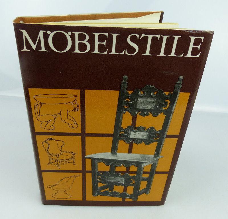 Buch Möbelstile Lizenzausgabe Koehler Und Amelang Leipzig 1976
