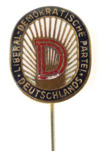 Anstecknadel: Liberal Demokratische Partei Deutschlands