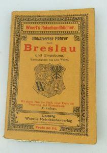 Buch illustrierter Führer durch Braslau und Umgebung Leo Woerl bu0885