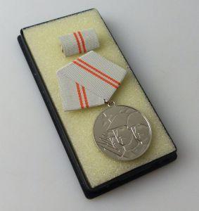 DDR Medaille der Waffenbrüderschaft Silber vgl Band I Nr 209 d  r284