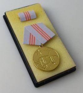 DDR Medaille der Waffenbrüderschaft Gold vgl Band I Nr 208 d  r284