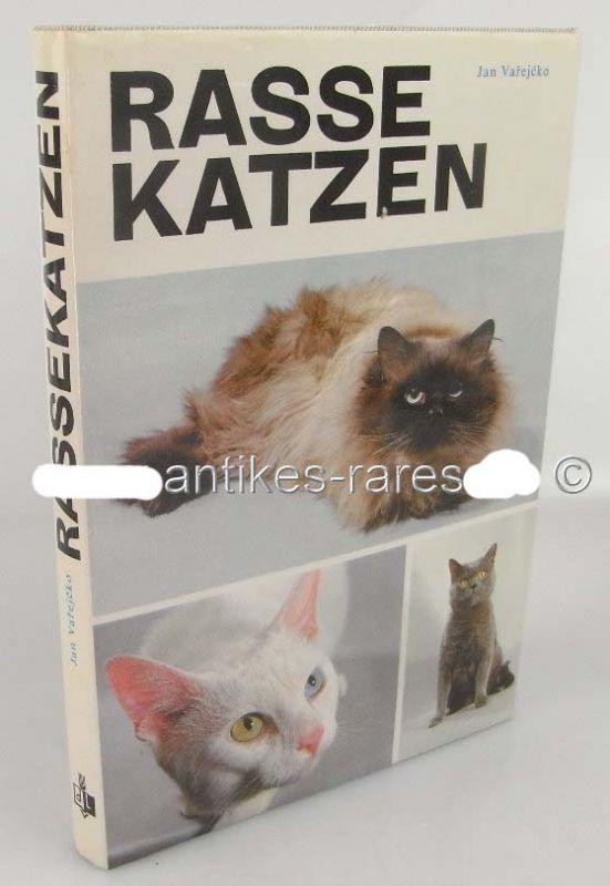 Rasse Katzen von Dr. Jan Varejcko, VEB Dt. Landwirtschaftsverlag Berlin 1986