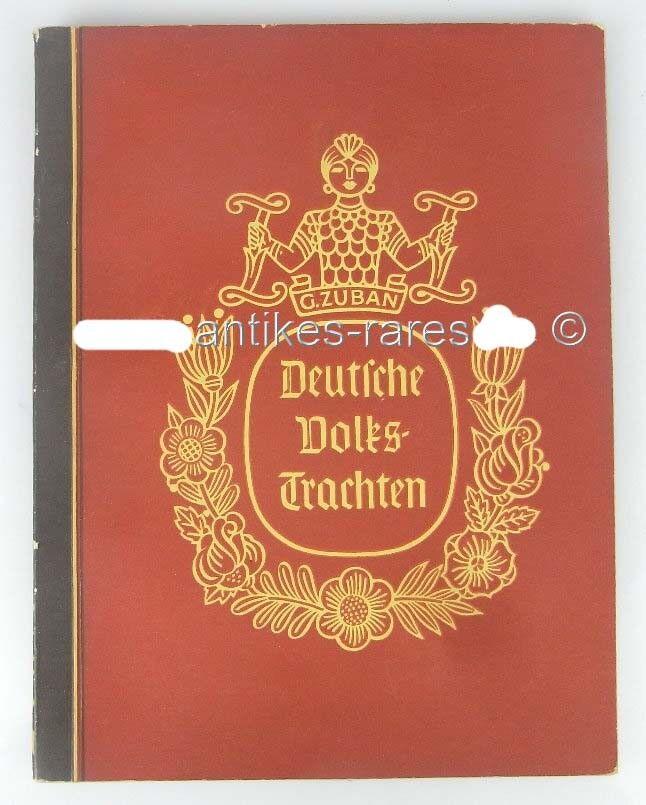 Deutsche Volkstrachen, Sammlund dt. Trachtenbilder, Zigarettenfabrik ca. um 1930