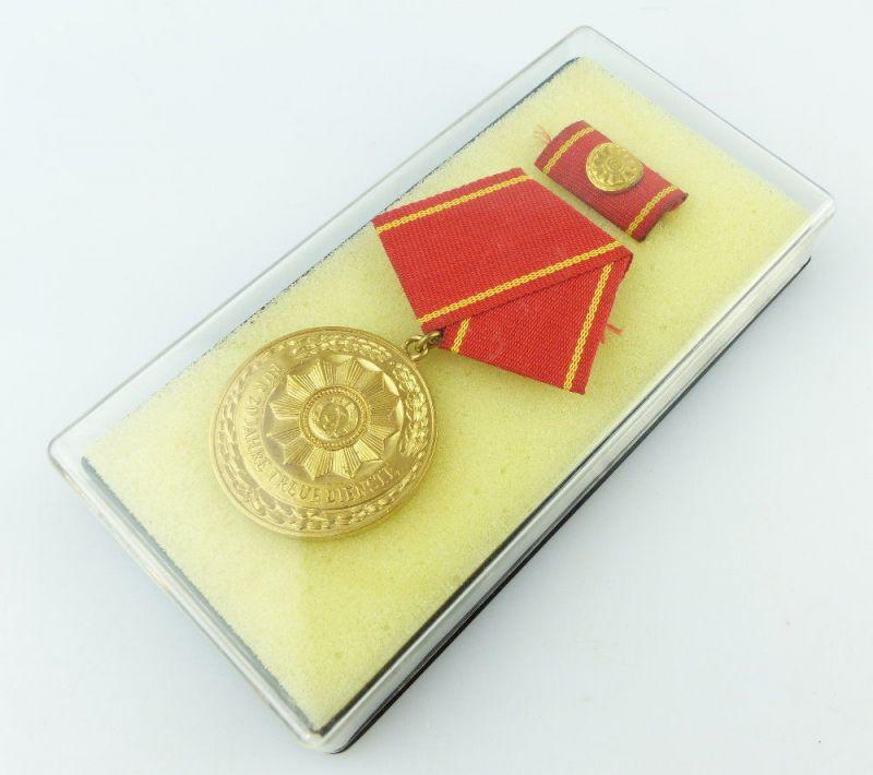 #e3454 DDR Medaille für treue Dienste in den bewaffneten Organen des MdI ab 1964