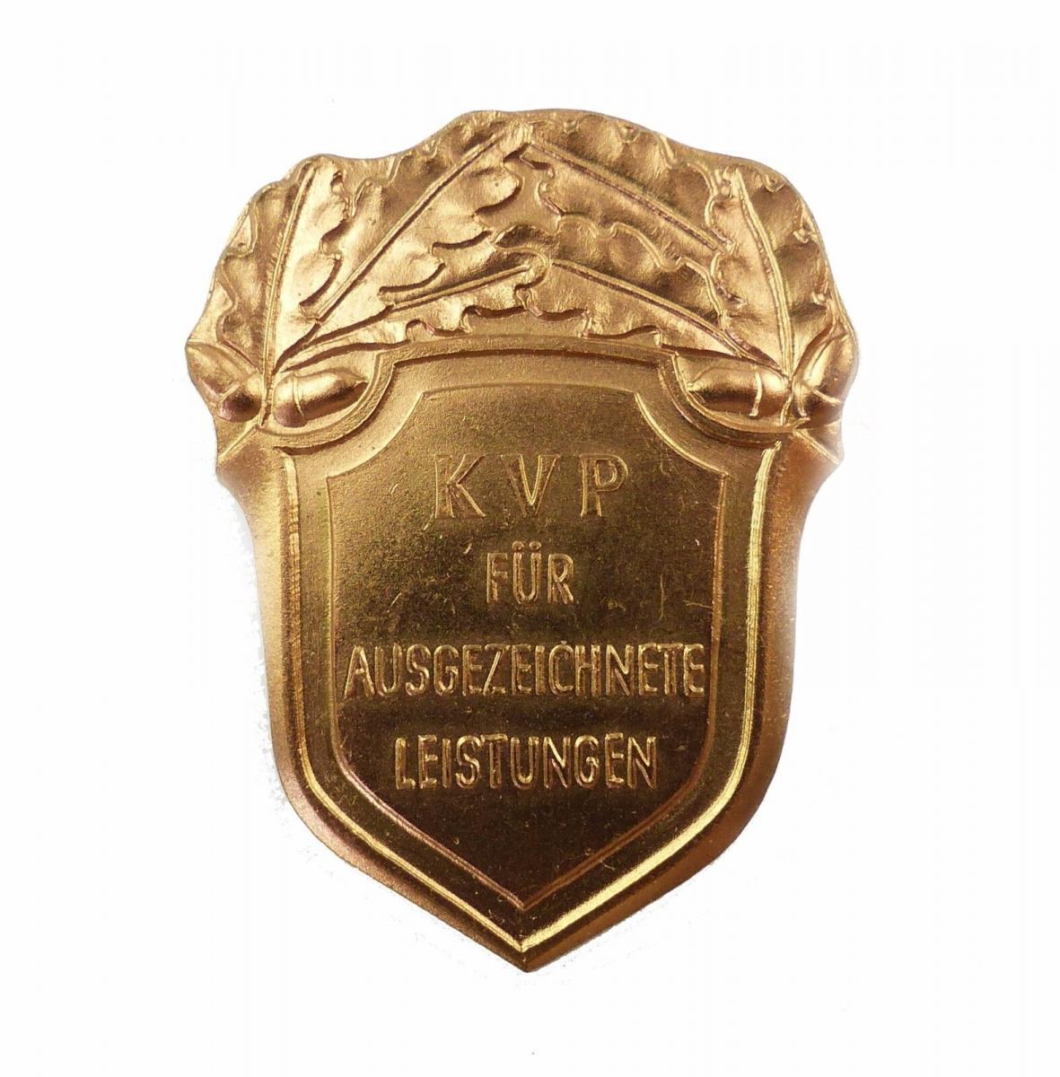 #e6806 DDR Leistungsabzeichen der Kasernierten Volkspolizei 1954-56 Nr. 134 b