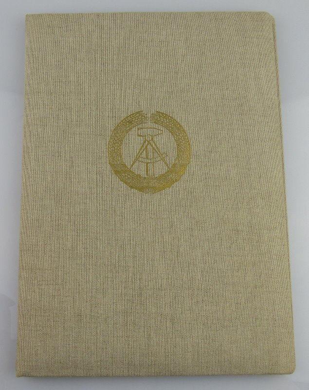 Urkunde: Vaterländischer Verdienstorden in Bronze, verliehen 1971, Orden1911