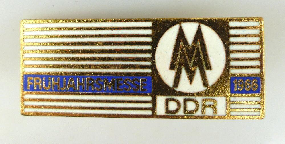 Abzeichen: MM Frühjahrsmesse 1966 DDR e1128