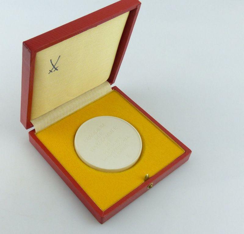Meissen Medaille : Präsidium der Volkskammer der DDR  / r440