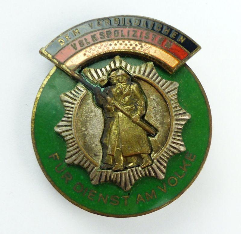 E10075 DDR Medaille Ehrenzeichen der Deutschen Volkspolizei Nr 121 a bis 1955