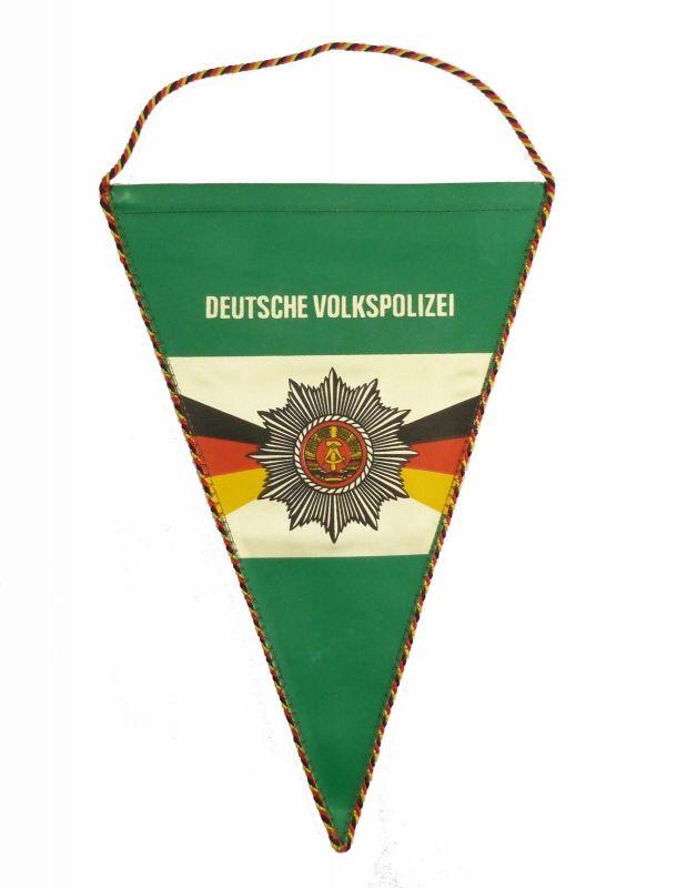 #e6062 Original alter DDR Wimpel Deutsche Volkspolizei DVP